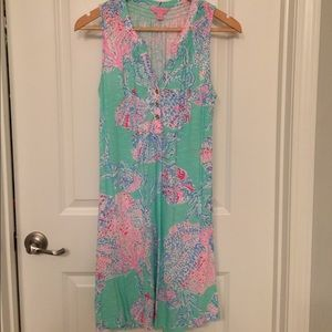 Lilly Pulitzer sleeveless Essie dress, Small.